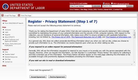 Obtaining 5500 Signing Credentials